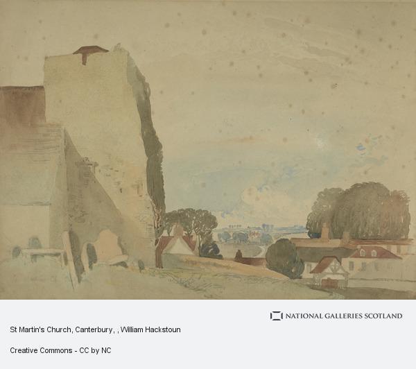 William Hackstoun, St Martin's Church, Canterbury