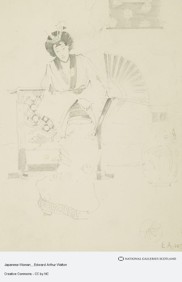Edward Arthur Walton, Japanese Woman