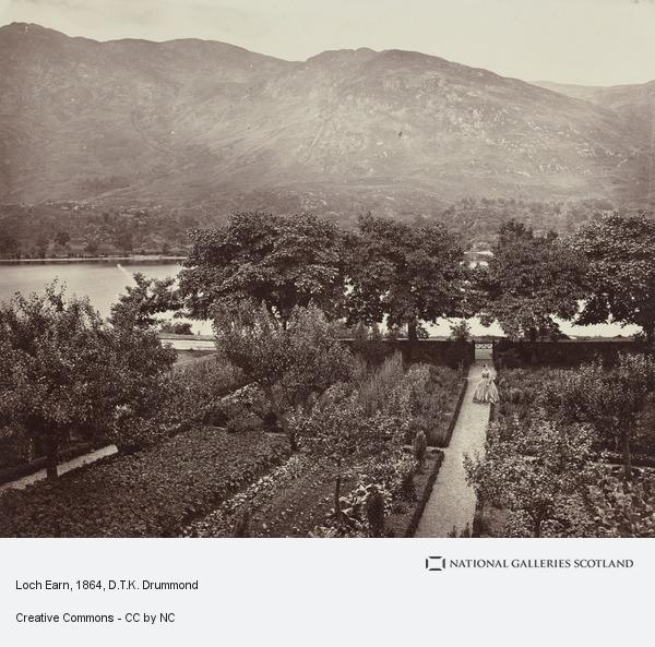 Rev. D.T.K. Drummond, Loch Earn (About 1864)