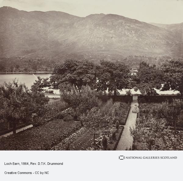 Rev. D.T.K. Drummond, Loch Earn
