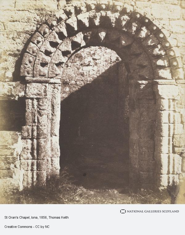 Sir Thomas Keith, St Oran's Chapel, Iona