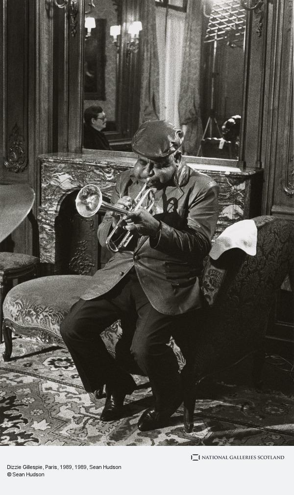 Sean Hudson, Dizzie Gillespie, Paris, 1989
