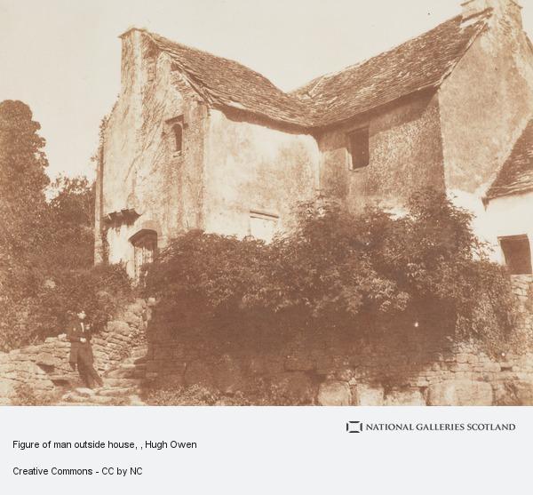 Hugh Owen, Figure of man outside house