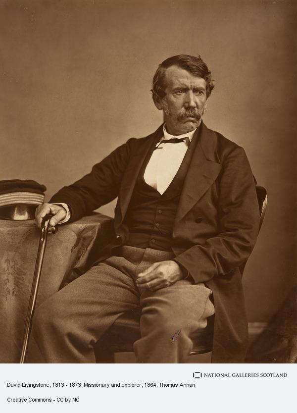Thomas Annan, David Livingstone, 1813 - 1873. Missionary and explorer (1864)