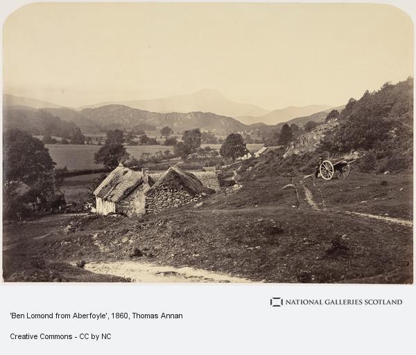 Thomas Annan, 'Ben Lomond from Aberfoyle' (About 1860)
