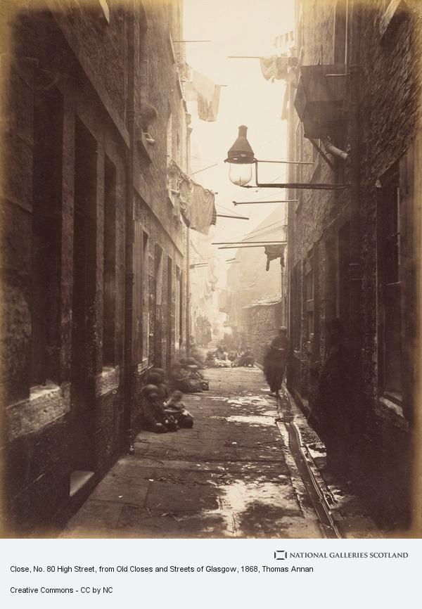 Thomas Annan, Close, No. 80 High Street, from Old Closes and Streets of Glasgow (1868 - 71)