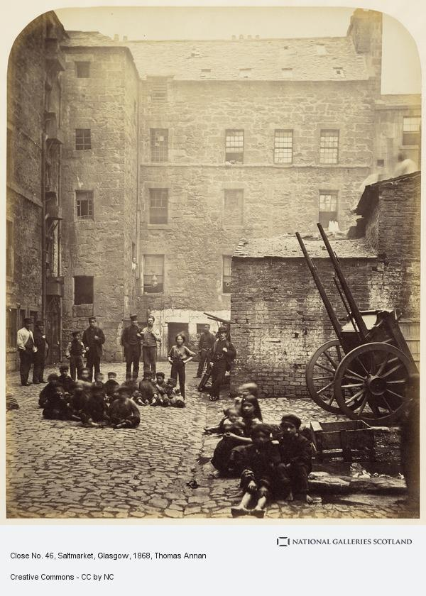 Thomas Annan, Close, No. 46 Saltmarket, from Old Closes and Streets of Glasgow