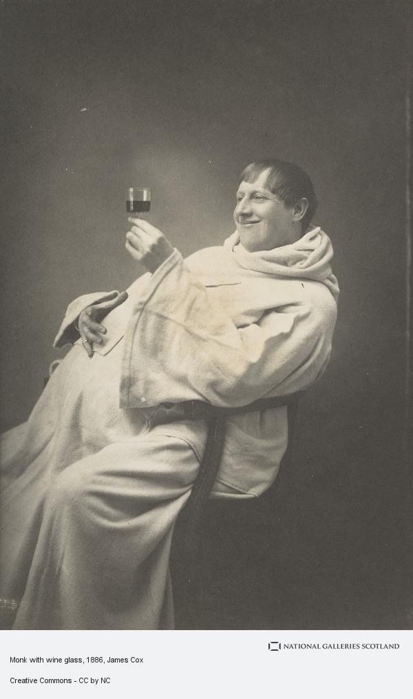 James Cox, Monk with wine glass