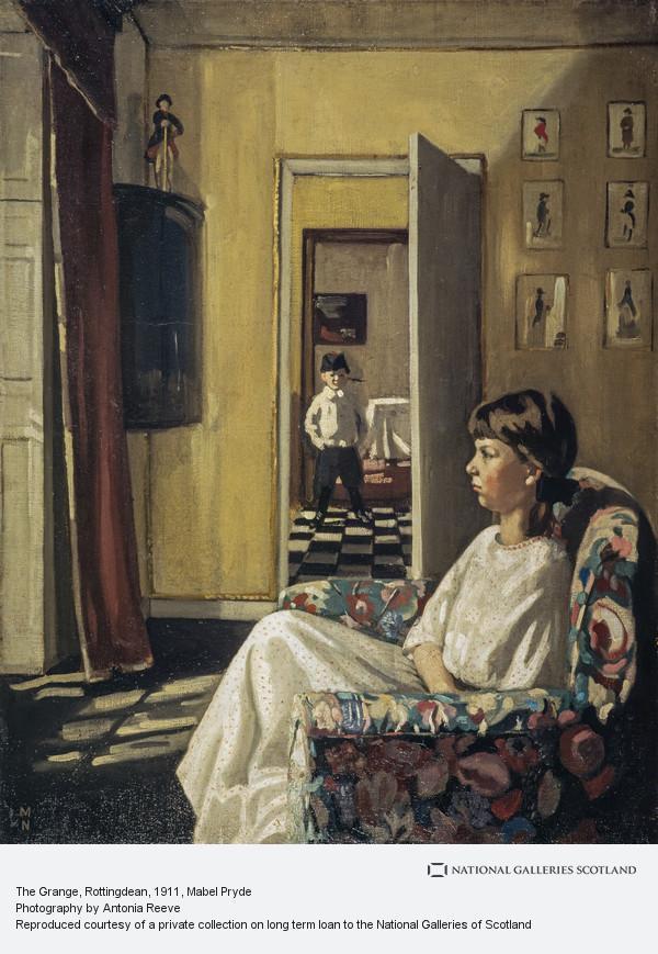 Mabel Pryde, The Grange, Rottingdean