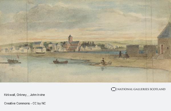 John Irvine, Kirkwall, Orkney