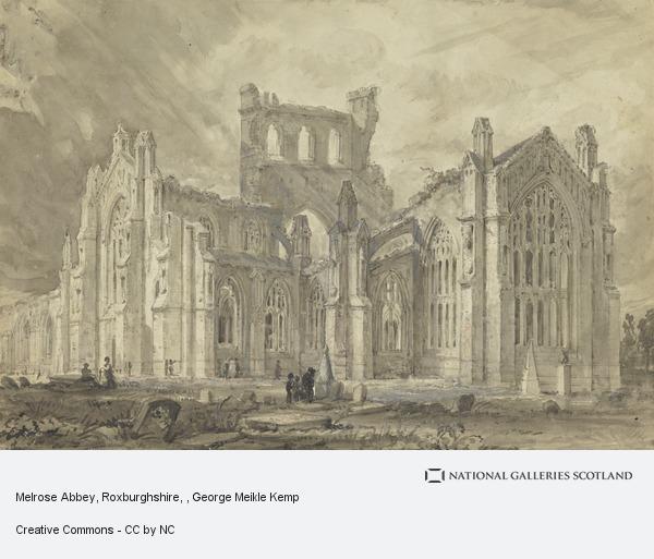 George Meikle Kemp, Melrose Abbey, Roxburghshire