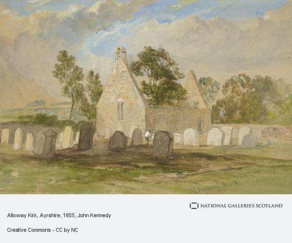 John Kennedy, Alloway Kirk, Ayrshire (1855)