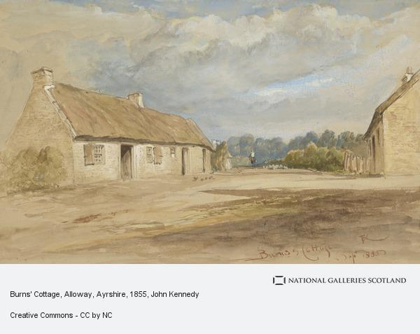 John Kennedy, Burns' Cottage, Alloway, Ayrshire