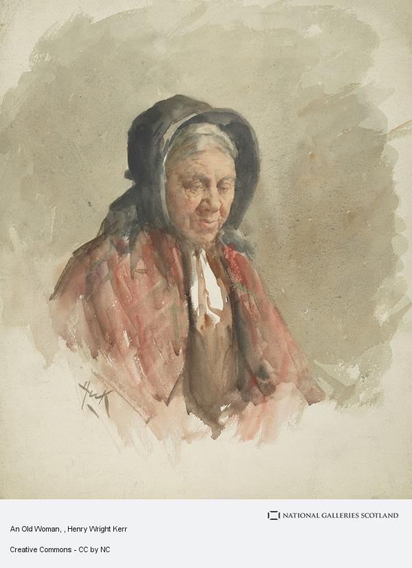 Henry Wright Kerr, An Old Woman