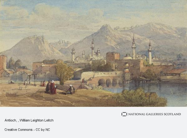 William Leighton Leitch, Antioch