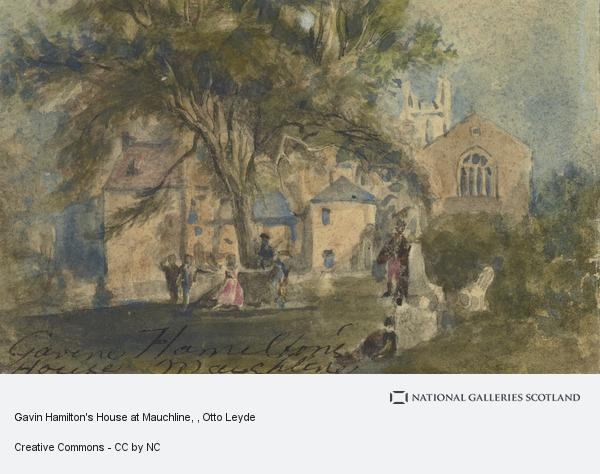 Otto Leyde, Gavin Hamilton's House at Mauchline