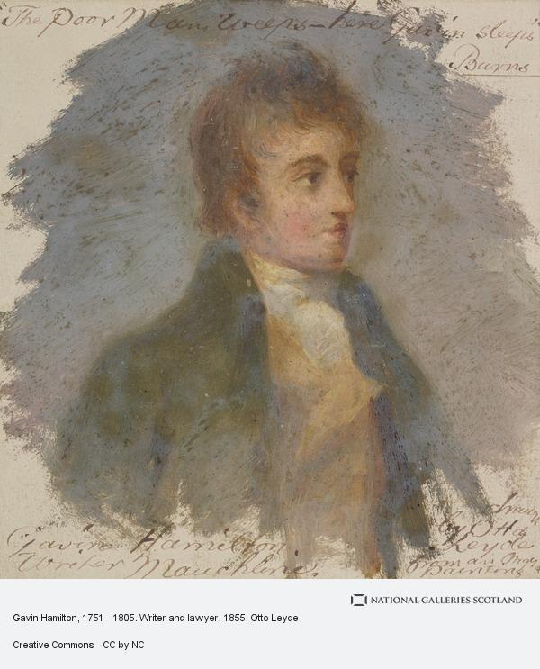 Otto Leyde, Gavin Hamilton, 1751 - 1805. Writer and lawyer