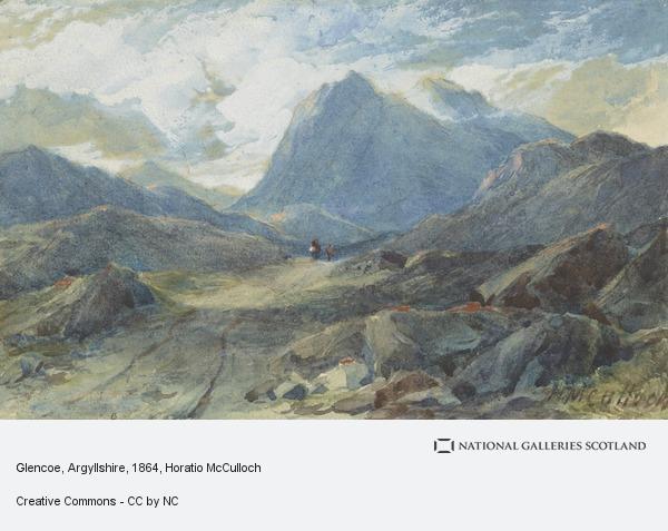 Horatio McCulloch, Glencoe, Argyllshire