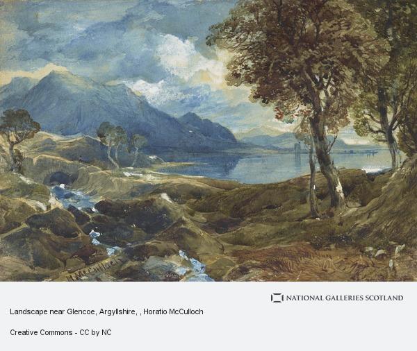 Horatio McCulloch, Landscape near Glencoe, Argyllshire