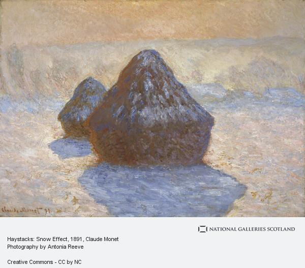 Claude Monet, Haystacks: Snow Effect