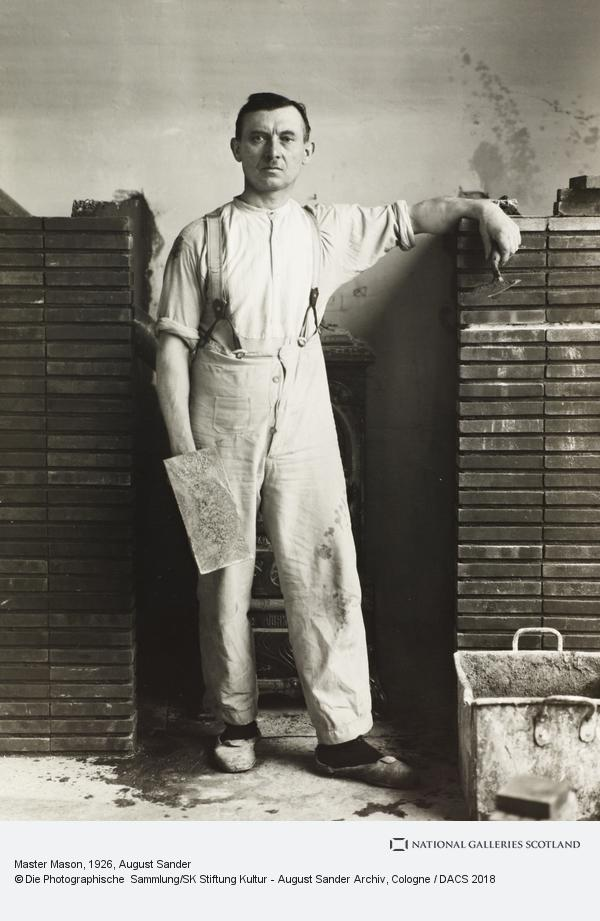 August Sander, Master Mason, 1926 (1926)