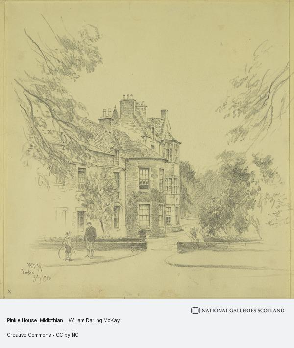 William Darling McKay, Pinkie House, Midlothian