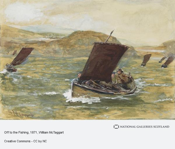 William McTaggart, Off to the Fishing