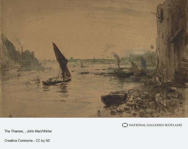John MacWhirter, The Thames