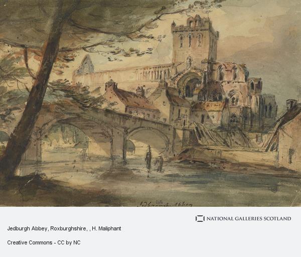H. Maliphant, Jedburgh Abbey, Roxburghshire