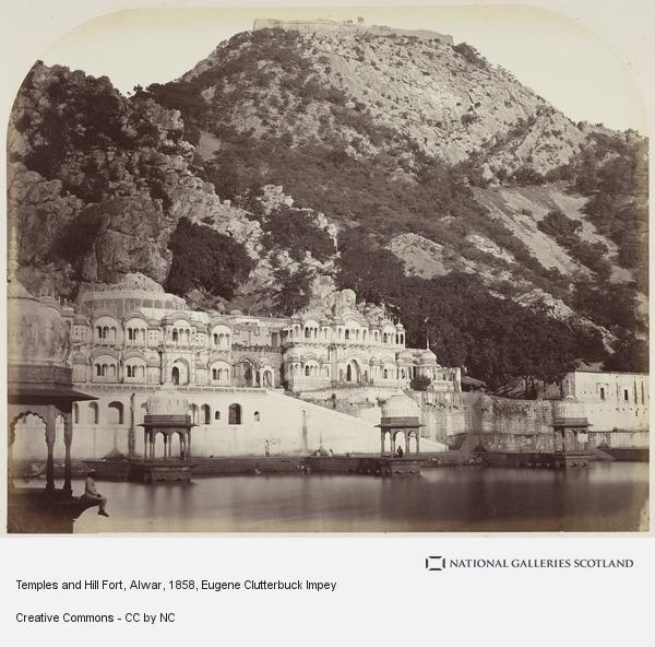 Eugene Clutterbuck Impey, Temples and Hill Fort, Alwar