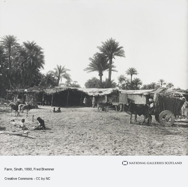 Fred Bremner, Farm, Sindh (About 1890)