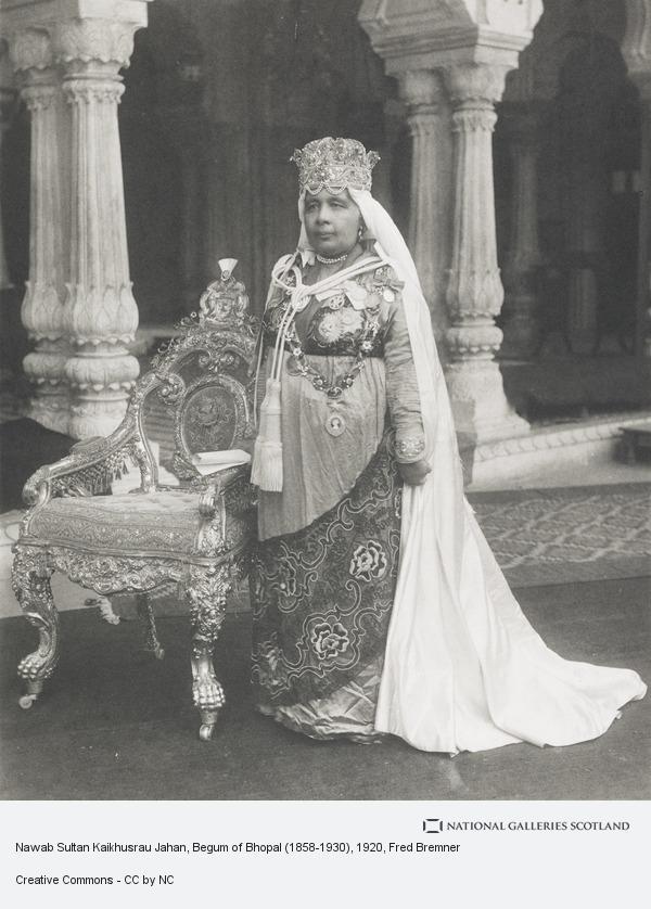 Fred Bremner, Nawab Sultan Kaikhusrau Jahan, Begum of Bhopal (1858-1930)