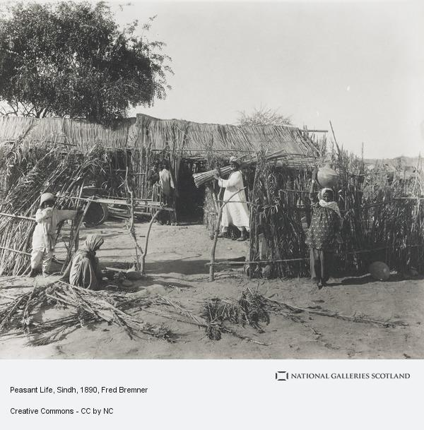 Fred Bremner, Peasant Life, Sindh (About 1890)