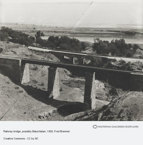 Fred Bremner, Railway bridge, possibly Baluchistan