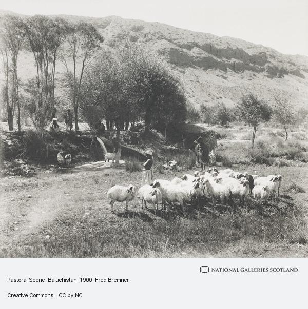 Fred Bremner, Pastoral Scene, Baluchistan