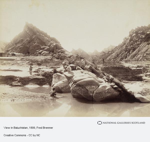Fred Bremner, View in Baluchistan