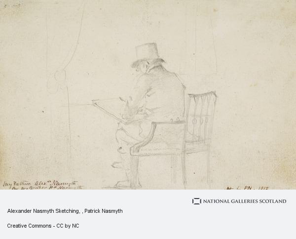 Patrick Nasmyth, Alexander Nasmyth Sketching