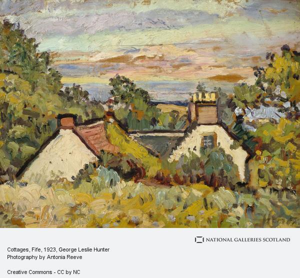 George Leslie Hunter, Cottages, Fife