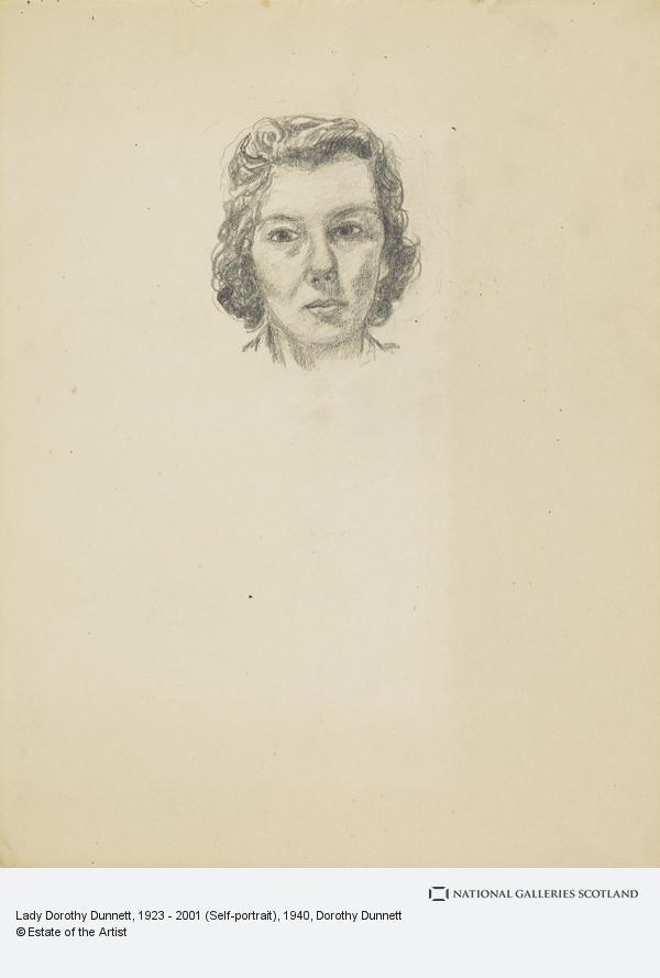 Dorothy Dunnett, Lady Dorothy Dunnett, 1923 - 2001 (Self-portrait)