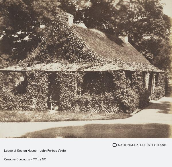 John Forbes White, Lodge at Seaton House
