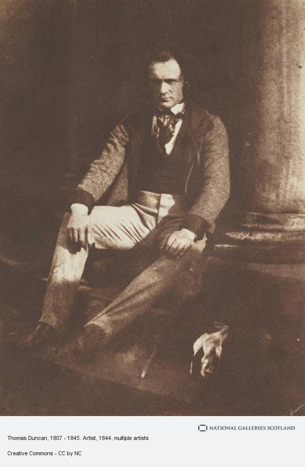 David Octavius Hill, Thomas Duncan, 1807 - 1845. Artist (About 1844)