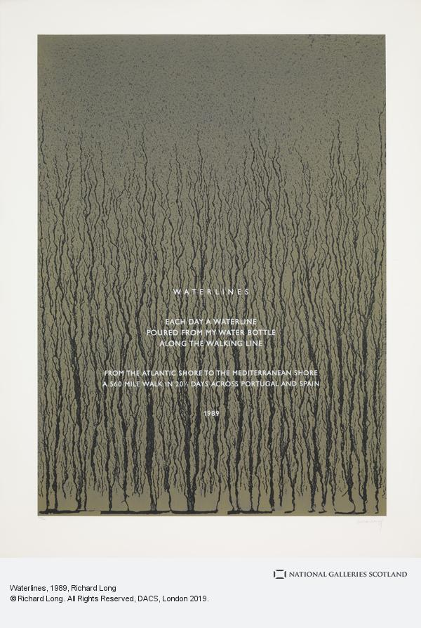 Richard Long, Waterlines