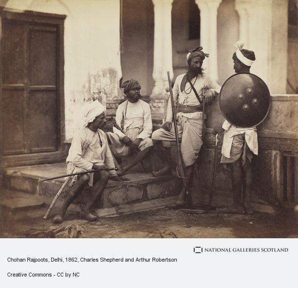Charles Shepherd and Arthur Robertson, Chohan Rajpoots, Delhi
