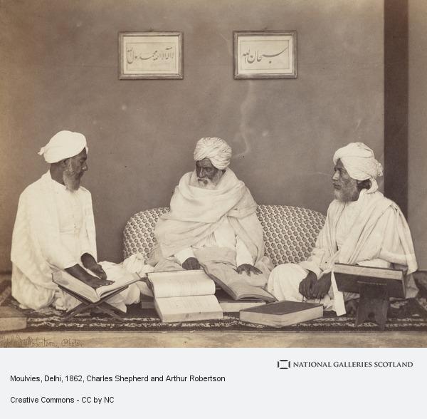 Charles Shepherd and Arthur Robertson, Moulvies, Delhi