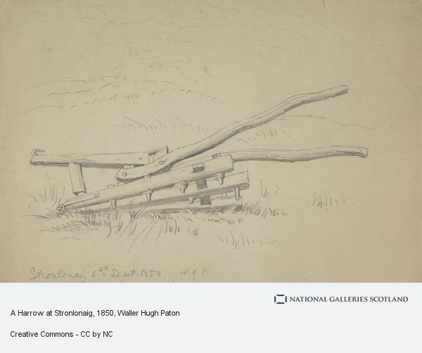 Waller Hugh Paton, A Harrow at Stronlonaig