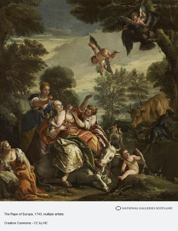 Giovanni Battista Tiepolo, The Rape of Europa