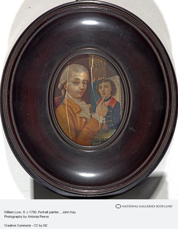 John Kay, William Low, fl. c 1790. Portrait painter