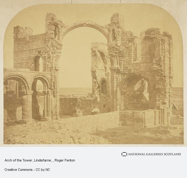 Roger Fenton, Arch of the Tower, Lindisfarne