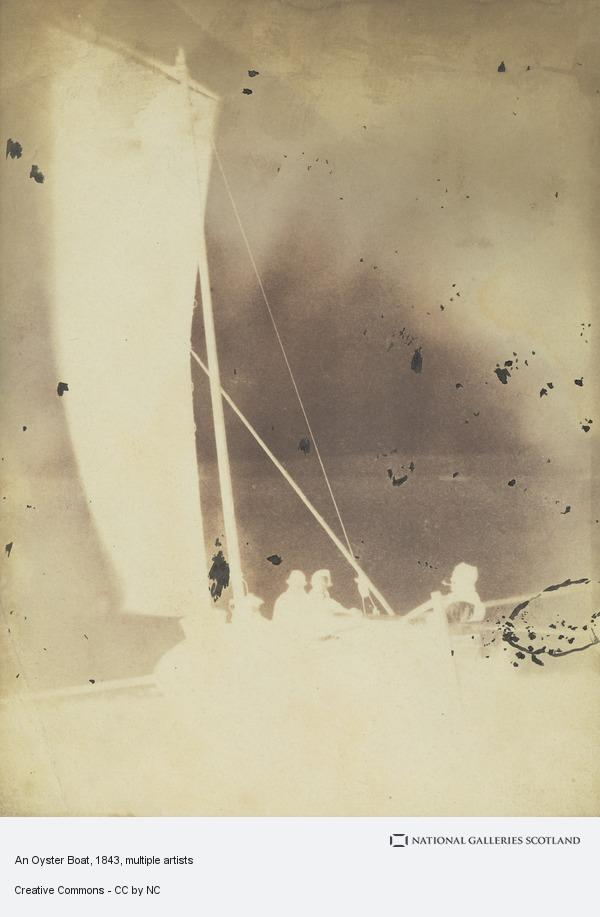 David Octavius Hill, An Oyster Boat