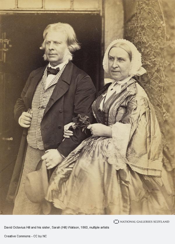 David Octavius Hill, David Octavius Hill and his sister, Sarah (Hill) Watson